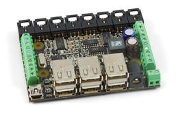 Phidgets Interface Kit 8/8/8 w/6 Port Hub (1019)