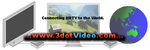 connecting HDTV to the world