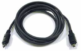 Newnex 4-pin to 4-pin FireWire Cable - 4.5m/15ft (CFA-44045)