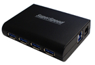 Koutech 4-Port SuperSpeed USB 3.0 External Hub (HU430)