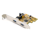 Antaira 2-Port USB 3.0 PCI Express Card (WHQL Certified) (USB-18202)