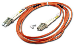 Fiber Cable LC to LC Patch Cord Multimode Duplex - 10m/33ft (FDLC-10M)